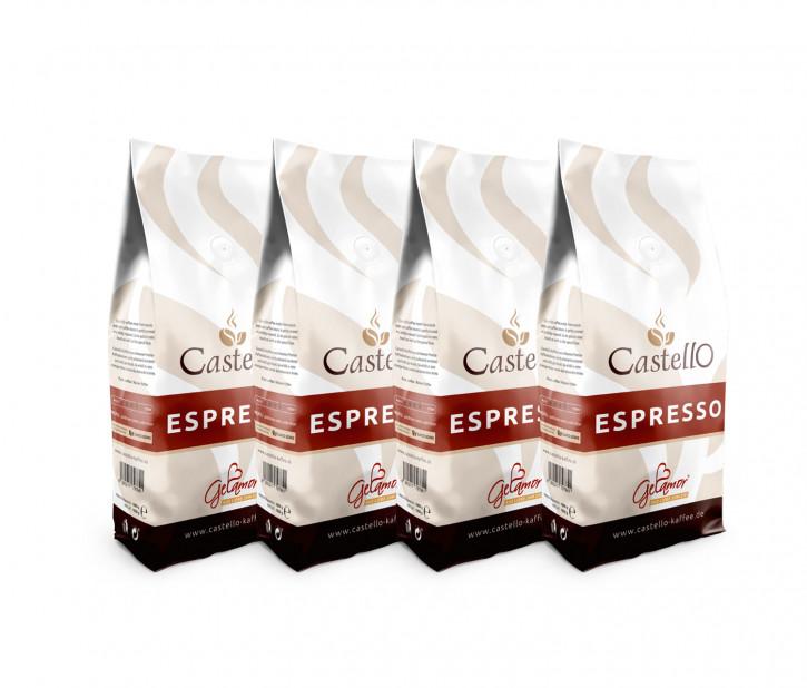 60003<br>Espresso Castello, Bohne 7 x 1.000 g