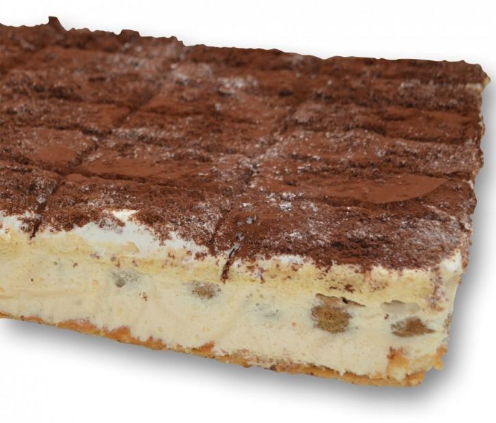 30138<br>Tiramisu 24 Stücke/Eckige Torte