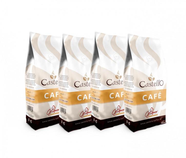 60004<br>Café Crema Castello, Bohne 7 x 1.000 g